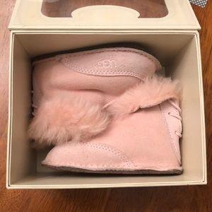 Infant pink uggs
